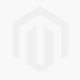 17 x 6 mm Silver with Clear Rhinestone 3 Hole Flower Slider - 5 pcs
